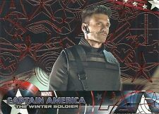 2014 CAPTAIN AMERICA The Winter Soldier #10 RED Foil Parallel # 66 of 99