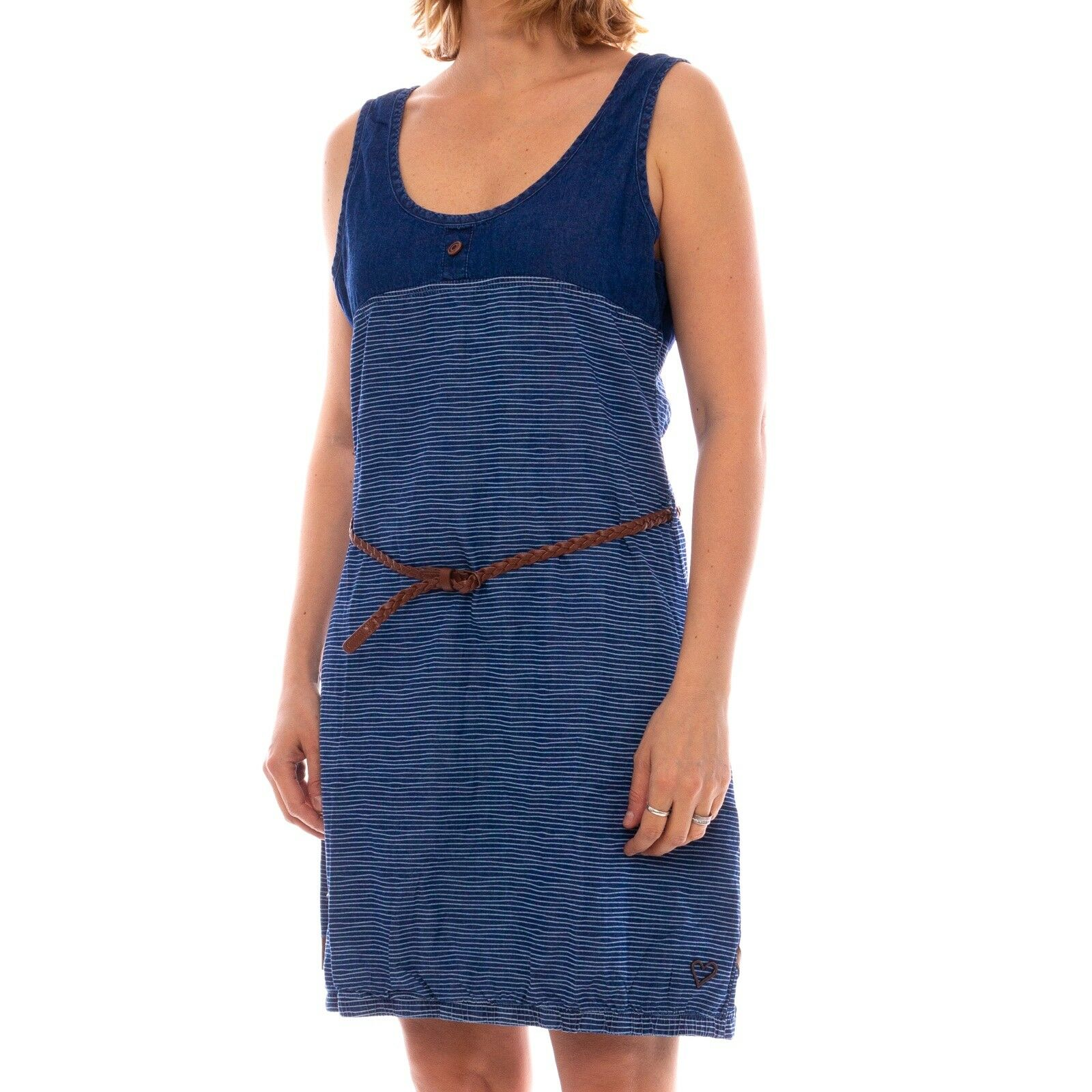 Alife & Kickin DOJA D Dress Kleid Damen Sommerkleid ddenistrip 35240