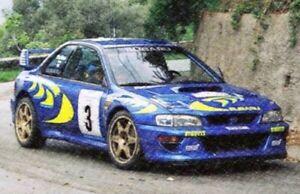 Trofeu-1105-1129-Subaru-Impreza-Rally-Coches-Modelo-C-McRae-amp-n-Malta-molida-1997-8-1-43rd