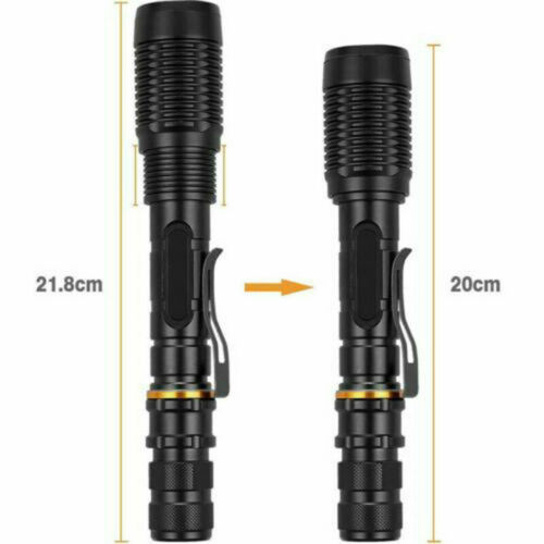 100000LM Tactical T6 Zoomable LED Flashlight Torch Light 1865*0 battery Charger`