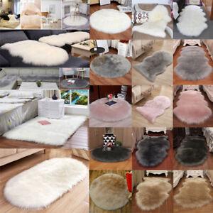 Soft Faux Fur Shaggy Mat Living Room