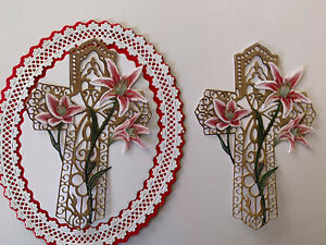 Tattered Lace x4 presents card topper die cuts Christmas