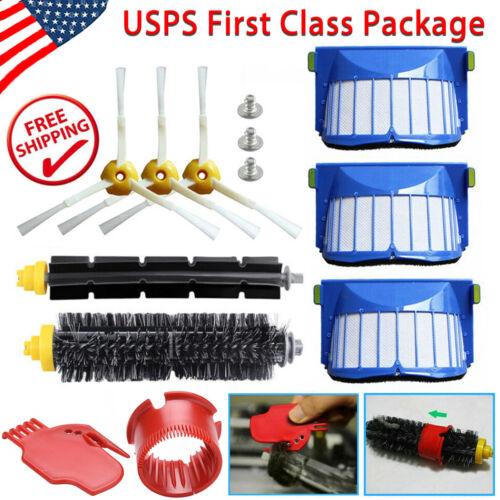 Filter Brush Kit For IRobot Roomba 600 Series 610 620 630 US