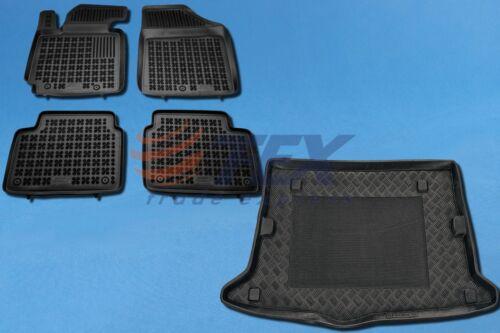 HYUNDAI VELOSTER 2011-heute Kofferraumwanne /& Gummi-Fußmatten