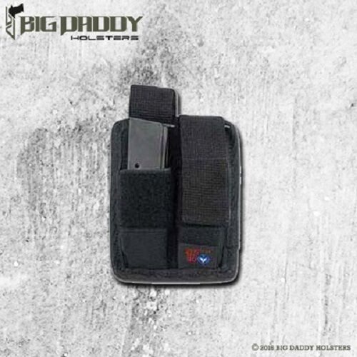 USA Made for sale online Double Magazine Pouch for Hi-point C-9 .380 9mm by Ace Case
