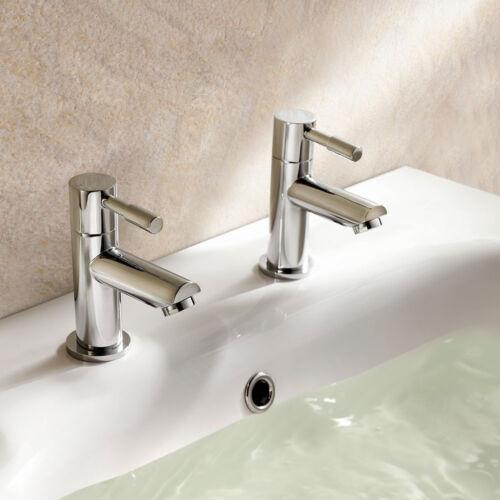 Modern Chrome Bathroom Taps Including Basin Bath Fillers /& Bath Shower Mixers