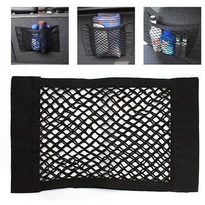 Car Rear Trunk Cargo Organizer Storage Elastic String Net Mesh Bag Pocket Cage