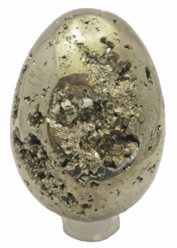 Iron Pyrite Egg Cluster Fool's Gold Sample 620 grams PYR085EGG