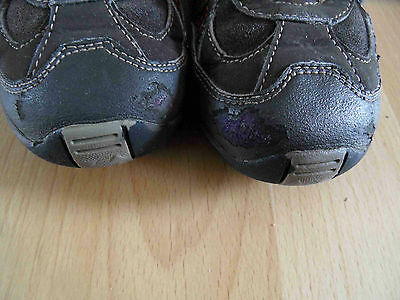 GEOX hohe Klett-Sneakers braun Gr. 29 TOP (SE 514)