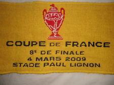 Rare écharpe collector 8 ème de finale Coupe de France PSG- RODEZ 2009