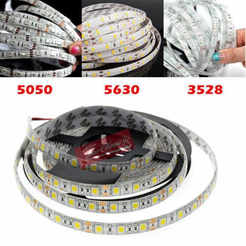 5M SMD 300//1020LED 3528 3014 5050 5630 Waterproof Flexible Strip Light 12V White