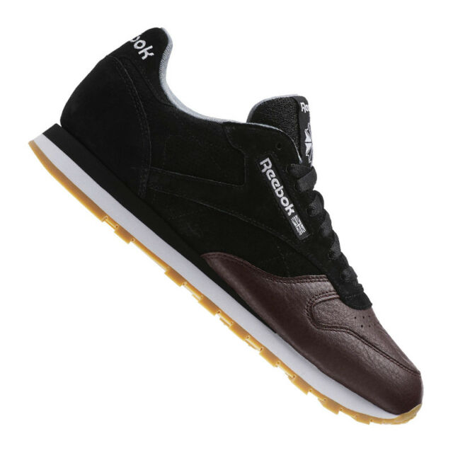 c77b17b8a9067 Reebok Classic Leather LS Running Black 44 5