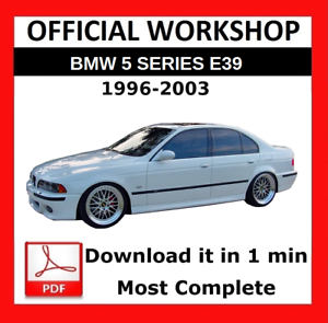 MANUALE PER OFFICINA UFFICIALE />/> Servizio di Riparazione BMW serie 5 E39 1996-2003