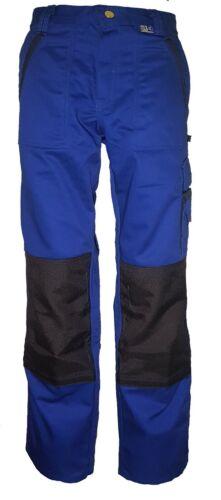 PKA Threeline-Image Bundhose Arbeitshose Hose kornblau//hydronblau Gr 94 98 102