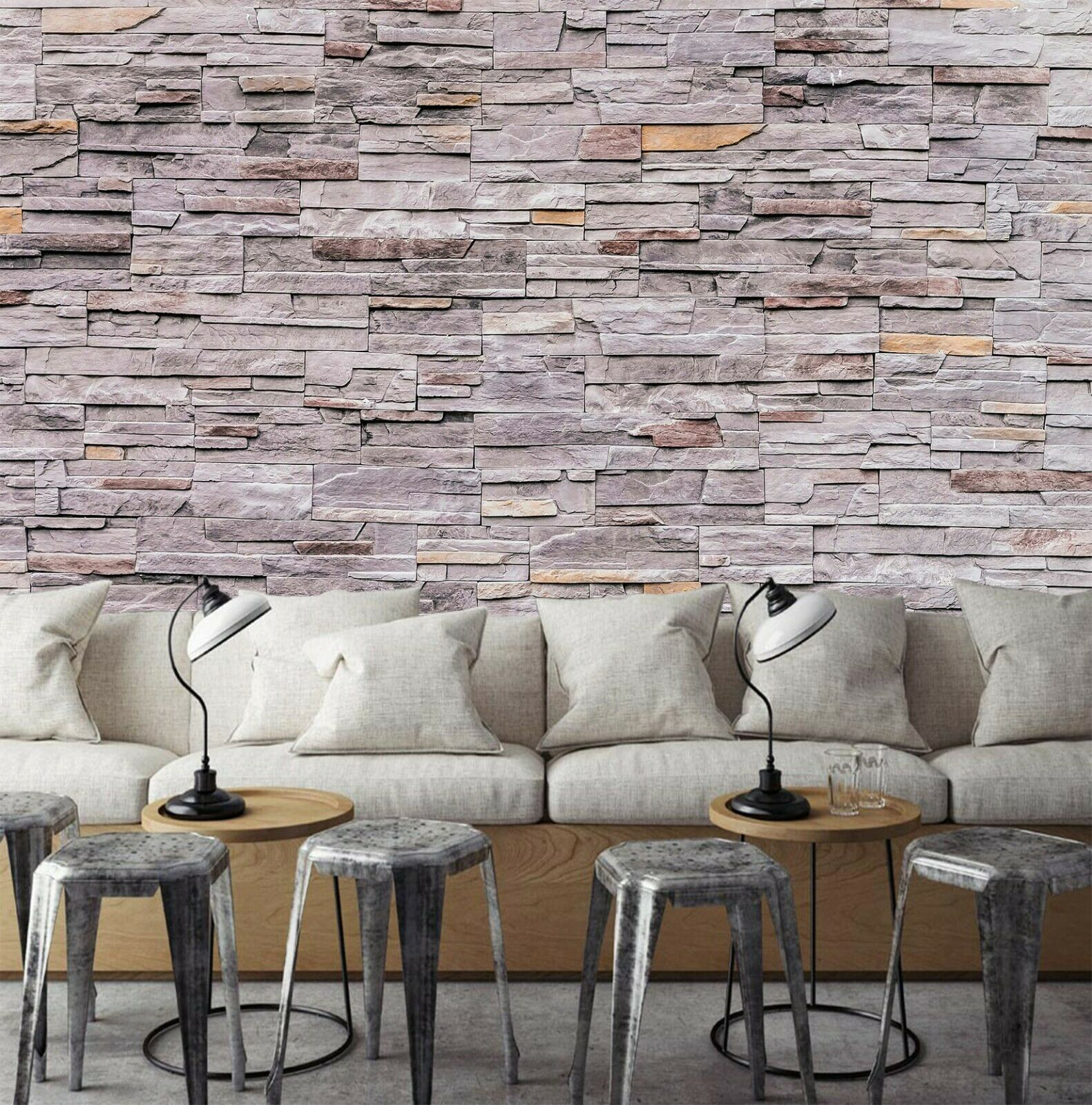 3D Brick Wall R031 Business Wallpaper Wall Mural Self-adhesive Commerce Amy