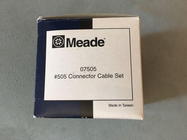 Conector & Cable Set Telescope Meade 505 Autostar/audiostar
