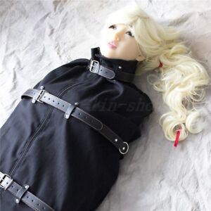 Full Body Canvas Bondage Sleeping Bag Strict Restraint
