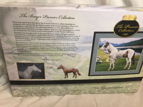 New In Box Breyer Horse Geronimo Stallion  Premier Club 2016 #90179