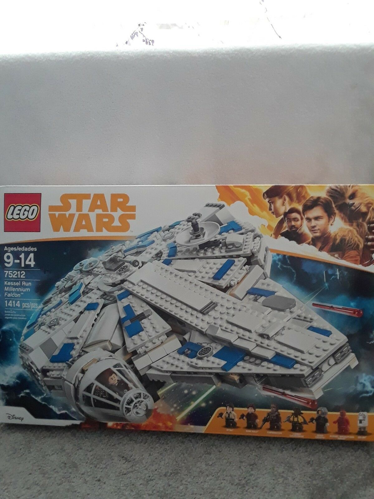 LEGO Star Wars Kessel Run Millennium Falcon 75212 Han Solo 1414 pcs NEW SEALED