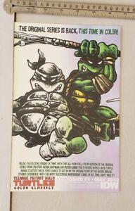 Teenage-mutant-Ninja-Turtles-IDW-RARE-PRINT-ADVERTISEMENT