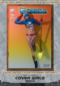 Stargirl Courtney Whitmore Pin-Up Sexy Cover Girls A3 Signed DC Comic Art Print