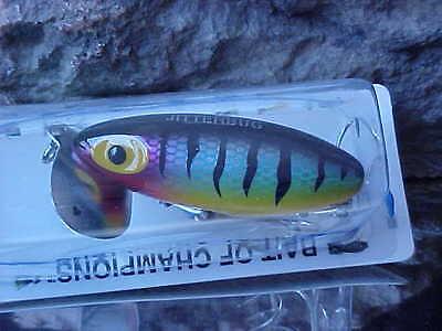 Arbogast Original 5//8oz Jitterbug TopWater G650-02 BLACK Hot Color for Bass//Pike