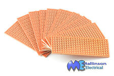 VERO BOARD PROTOTYPING COPPER STRIP BOARD 25x64mm (10 PACK)