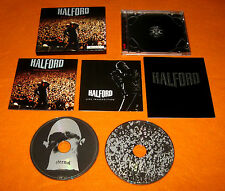 HALFORD LIVE INSURRECTION 2001 JAPAN 1st Box Cover 2 CD Judas Priest Iron Maiden