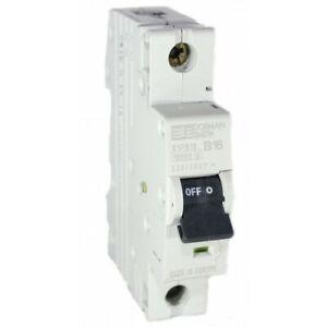 Dorman Smith X1P Single Pole MCB 10A 16A 20A 32A 40A 50A 63A Amp Type B C 10kA