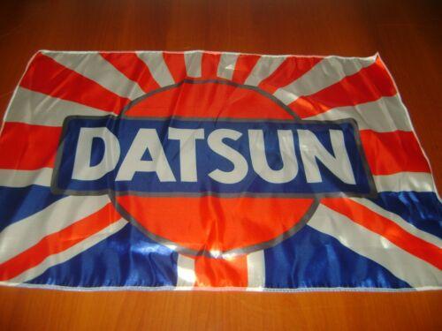 """Datsun Logo 20x30/"""" Flag Banner JDM Show Garage Racing Shop Unique 240 280Z Japan"""
