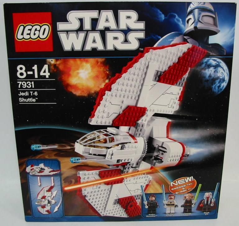 NUOVO   LEGO ® estrella guerras ™ 7931 t-6 JEDI SHUTTLE  OVP   Spedizione gratuita al 100%