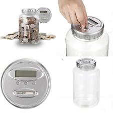 Large Digital Creative Fashion Lcd Screen Coin Counting Automated Coin Bank Pigg