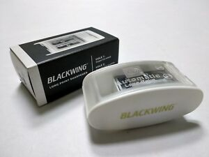 PALOMINO-BLACKWING-Long-Point-Pencil-Sharpener-KUM-White-Color-Edition