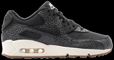 Size 7.5 - Nike Air Max 90 Premium Low Black for sale online | eBay
