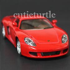 Kinsmart Porsche Carrera GT 1:36 Diecast Toy Car Red