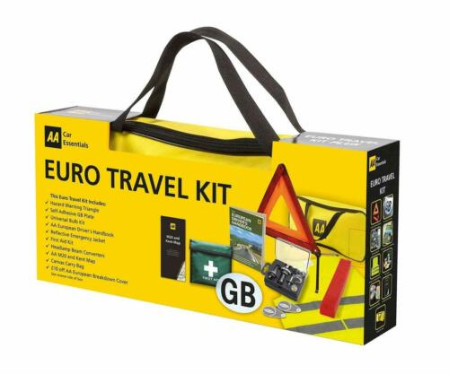 AA European Car Driving Travel Kit Touring France Accessories