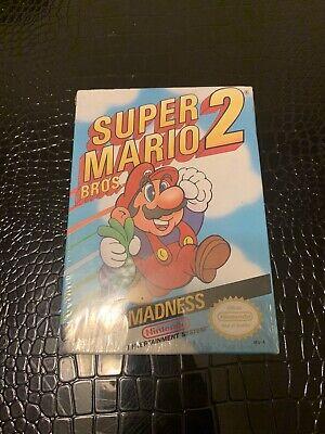 Super Mario Bros 2 Nes Original Nintendo Factory Sealed Authentic