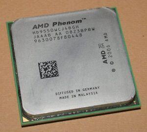 CPU-AMD-Phenom-X4-9550-Cartwheel-socket-AM2-AM2-HD9550WCJ4BGH-Quad-Core