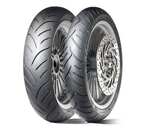 01 coppia gomme scooter Dunlop Scootsmart 120/80 14 58S + 150/70 14 66S