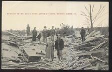 1909 POSTCARD SHREVE RIDGE PA/PENNSYLVANIA LEE HOME CYCLONE TORNADO DISASTER