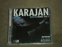 Herbert Von Karajan Maestro Nobile Vol 2 Beethoven Dbl Cd Sealed