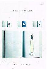 Publicité Advertising 1998 Le parfum L'Eau D'issey Miyake