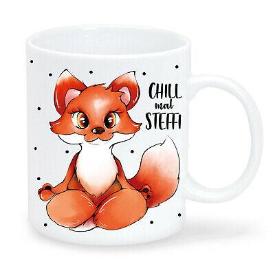 TASSE Kaffeetasse Fuchs Tier