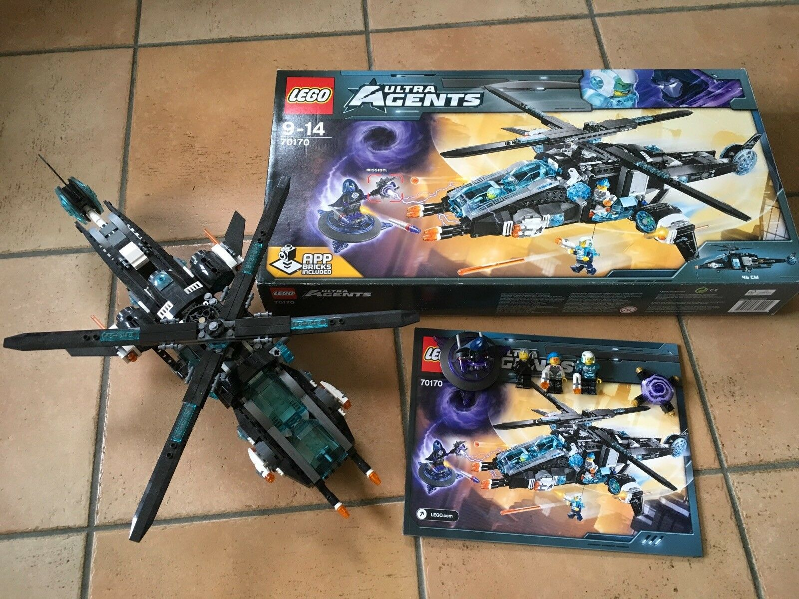 LEGO 70170 ULTRA AGENTS ULTRACOPTER