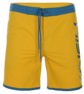 O'Neill PM NAVAL SHORTS Herren Badeshorts Badehose Boardshorts gelb-blau