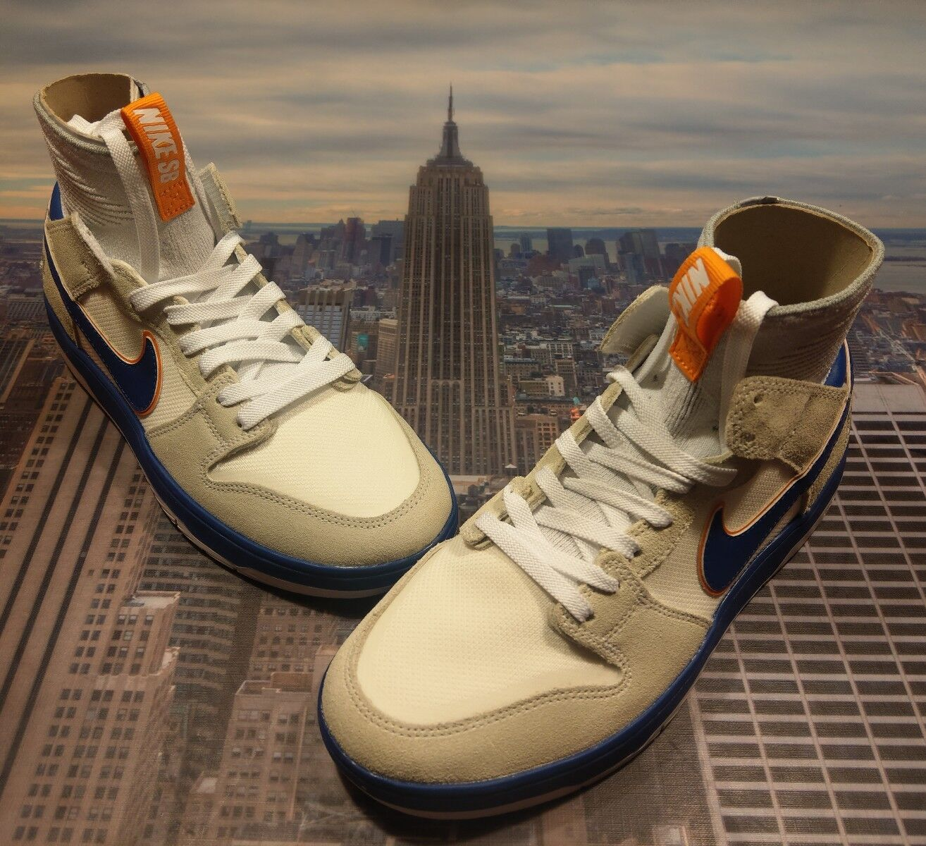 Nike SB Zoom Dunk High Elite QS Medicom Bearbrick Mens Comfortable The latest discount shoes for men and women