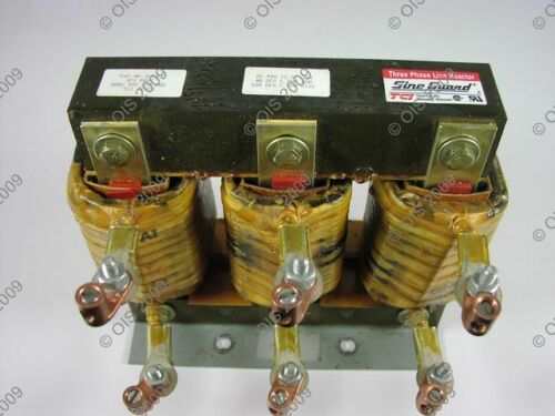 TCI 3LR35C Line Reactor 240-600 VAC 3 Phase 35 Amp #7026