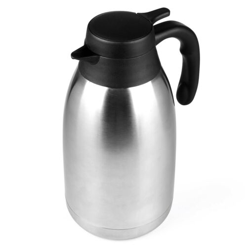 68 Oz Stainless Steel Thermal Carafe-Double walled Vacuum Thermos-12 HR Heat...
