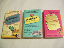 Lot of 3 Sophie Kinsella Shopaholic Paperback Books (Like New Condition)