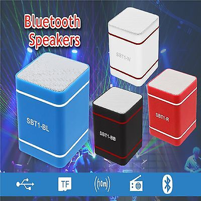 Universal Bluetooth Wireless Mic Headset Speaker Rechargable Earphones Uk Lot